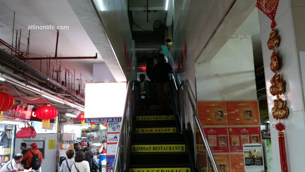 Chungking Mansions Stairs